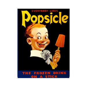 Is this not the creepiest ad! Sorry had to include it. Creepy Clown Kid wants to you to buy his popsicles...